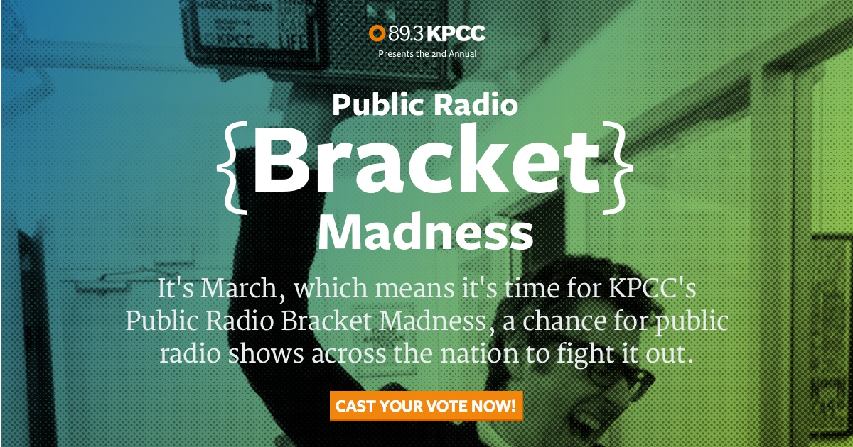Public Radio Bracket Madness